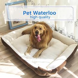 Large Housing Australia - Plus Size Large Dog Bed Mat Kennel Soft Pet Puppy Warm Bed House Plush Cozy Nest Pad kennels Warm Pet House Pet Supplies