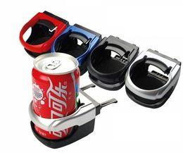 2X Autozubehör Universal Auto Fahrzeug Getränke Wasserflaschenhalter Air Vent Outlet Mount Kaffeetasse Flasche Stand Stehen Halterung im Angebot