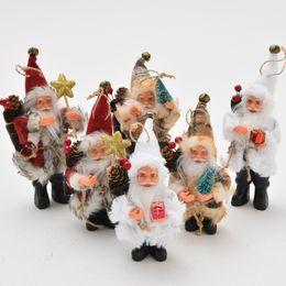 $enCountryForm.capitalKeyWord Australia - Christmas Santa Claus Doll Toy Decor Ornaments for Merry Chirstmas Home Decorations Christmas Decor Window Display Dolls Gifts Festival Doll
