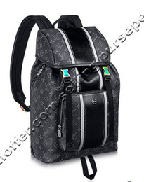 $enCountryForm.capitalKeyWord NZ - Zack Backpack M43409 Eclipse Coated Canvas Backpacks Fashion Shows Oxidized Leather Business Totes Messenger Bags