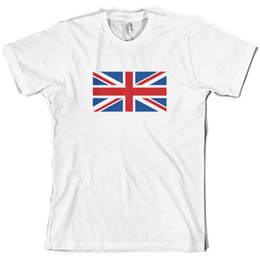 jack gifts Australia - Union Jack Flag Mens T Shirt British United Kingdom UK 10 Colours Funny free shipping Unisex Casual tee gift
