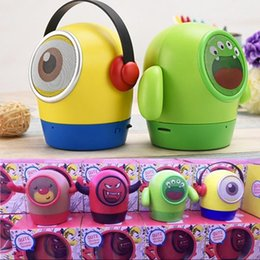$enCountryForm.capitalKeyWord Australia - Christmas Gift Super Cute Cartoon Minions Despicable Me Mini Bluetooth Speaker Portable Wireless Music Player Subwoofer TF Card
