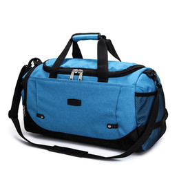 4409bc2168 Gym Bag Outdoor Sport Training Fitness Shoulder Bag Waterproof Durable Travel  Duffle Multi Handbag Sporting Tote For Men Woman