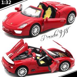 Кабриолет металл модель 1: 32 porsche свет звуковые эффекты отодвинуть гоночный автомобиль сплава детские игрушки