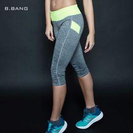 $enCountryForm.capitalKeyWord Canada - B.BANG 2017 Women Fitness Yoga Pants Sports Capris Elastic Exercise Tights Female Sports Elastic Gym Trousers Slim Leggings