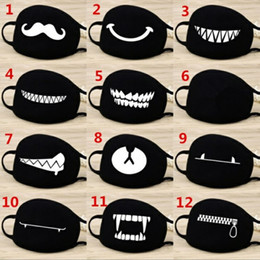 Wholesale Face Mouth Mask Unisex Style Camouflage Mouth muffle Unisex Respirator Stop Air Pollution Cartoon Lovely Cotton Mask