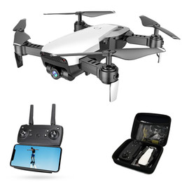 Vente en gros Drone Global FPV Selfie Dron Drone pliable avec caméra HD Grand Angle Vidéo en direct Wifi RC Quadricoptère Quadrocopter VS X12 E58