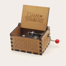 $enCountryForm.capitalKeyWord Australia - Creative wood craft Antique carved wooden game of thrones music box, Christmas gift, new year gift, birthday gift