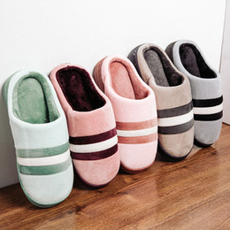 Home plusH slippers online shopping - 2018 Unisex Winter Warm Ful Slippers Women Slippers Cotton Sheep Lovers Home Slippers Indoor Plush Size House Shoes Woman