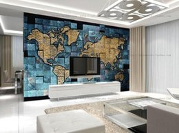 Discount world map wallpaper 2018 world map wallpaper home on discount world map wallpaper customized size european style 3d world map photo mural wallpaper for living gumiabroncs Gallery