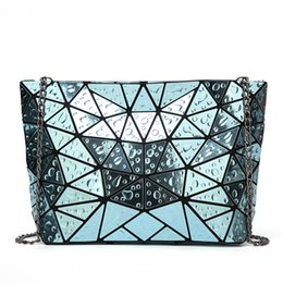 dc542cd3d78f 2017 fashion women shoulder bag female bao bao bags chain strap new laser  silver teenager girls baobao bag crossbody sac handbag