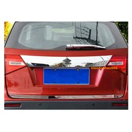 Wholesale Hot sale For Suzuki Vitara car auto body Rear back bumper cover ABS chrome Wrap license trim frame lamp panel