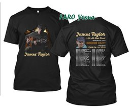 Chinese  New T-shirt James Taylor And Bonnie Raitt Tour Dates 2018 S - 2XL Brand Clothes Summer 2018 Sale 100 % Cotton T Shirt Hip Hop manufacturers