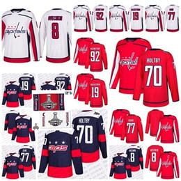 2018 Stanley Cup Final Champion Stadium Series Capitals 8 Alex Ovechkin 77  Oshie Braden Holtby Kuznetsov Nicklas Backstrom Hockey Jerseys e854b9e98
