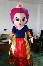 $enCountryForm.capitalKeyWord NZ - 2019 High quality Alice in wonderland mascot costume red queen mascot Cartoon costume Halloween costumes for role-playing apparel party dres