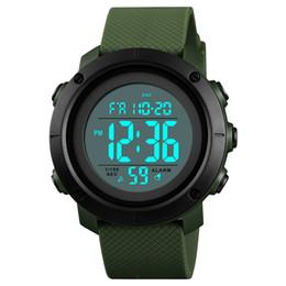 Digital Round NZ - Sport Digital Watch Waterproof LED Display Shockproof Alarm Round For Men Boy Student LXH