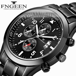 $enCountryForm.capitalKeyWord Australia - 2018 Fashion Black Wrist Watch Mens Top Brand Luxury Casual Male Clock Date Quartz Watch Full Steel Wristwatch Men's Watch Relogio Masculino