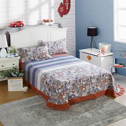$enCountryForm.capitalKeyWord Australia - 100% Cotton Kids Students Sleeping Bed Sheet Cartoon Bedspreads Bedroom Sheet Shams Covers Earthing Bedding Flat Twin King