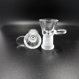 $enCountryForm.capitalKeyWord NZ - Female Glass Bong Bowls Pipes Handle Smoking Accessory Glass Water Pipe Bongs 5mm Thick Glass bowl free shipping