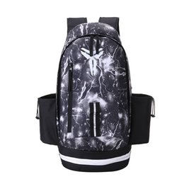 Chinese  2018 New KOBE BRYANT Basketball Backpack Unisex Bags Large Capacity Sport Waterproof Training Travel Bags Multifunctional Student Backpack manufacturers