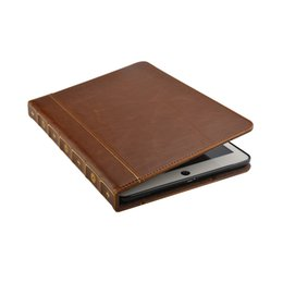 $enCountryForm.capitalKeyWord UK - Vintage Book Style Leather Wallet Case For Apple Ipad Air Ipad 5 6 Air 2 Pro 9.7inch 2017 2018 Retro Ancient Old Flip Kickstand Skin Covers