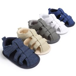 $enCountryForm.capitalKeyWord Australia - Summer Newborn Baby Boys Casual Breathable Hollow Out Breathable Baby Slippers Prewalker Sandal Shoes New Arrival