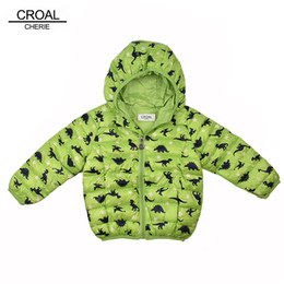 $enCountryForm.capitalKeyWord Australia - CROAL CHERIE 80-130cm Kawaii Dinosaur Children Boys Clothes Kids Girls Winter jackets And Coats Parkas Infant Baby Outerwear