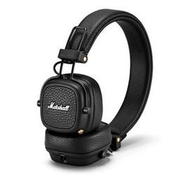 Lg Wireless Headphones UK - 2018 Newest Marshall Major III 3.0 Bluetooth headphone With Mic Deep Bass Hi-Fi DJ Headset Wireless Major 3 Professional for iphone X