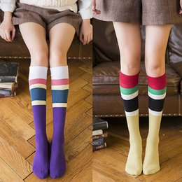 99558399664 Women Girl Sheer Striped Thigh High Stockings Plus Size Over The Knee Socks