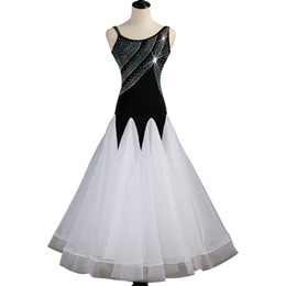 ballroom standard dance dresses Australia - Customized Ballroom Dance Competition Dresses Lyrical Oriental Dance Costumes Standard Dance Dresses CHEAP D0490 Ballroom Dress Rhinestones