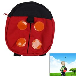 Discount toddler safety belt - Toddler Leash Backpack For Kids Walking Baby Belt Child Safety Harness Leash Bags Backpack Anti-Lost Cartoon Design Baby