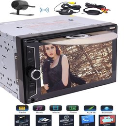 remote control car stereo Australia - EinCar Audio Double Din Bluetooth car DVD CD USB SD AM FM RDS Car Radio Stereo 6.2''Wireless Remote Control Wireless Rear Camera