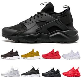 watch 407a2 7468c nike air huarache shoes 2018 Huarache 1 IV para hombre mujer Zapatillas de  running Classic Triple Blanco Negro rojo gris Huaraches Outdoor Runner  deportivo ...