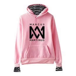 Top Hoody Women NZ - New Fashion Marcus and Martinus Clothes Hoodie Sweatshirt Pullovers Women Long Sleeve Hoody Hooded Hip Hop Streetwear Tops 4XL