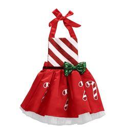 $enCountryForm.capitalKeyWord UK - pudcoco 0-18M Baby Girl Christmas dress Bow Striped Candy Cane tutu Dress Party Dresses girls Costume sundress