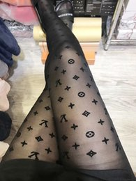 Wholesale black woman hose resale online - 2018 New Fashion Solid Color Pattern Flocking Silk Stockings Woman Sexy Defence Off The Wire Even Panty Hose You Black
