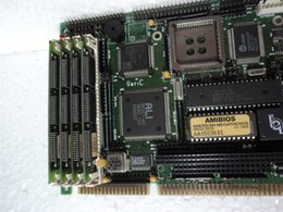long sockets Canada - Motherboard ASC386SX Long CPU Card Industrial Motherboard IPC Board 100% tested perfect quality