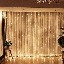 $enCountryForm.capitalKeyWord Australia - Wholesale-6m x 3m EU 220V US 110V Led Outdoor Fairy String light Christmas Wedding Party Holiday Garden 600 LED Curtain Lights Decoration