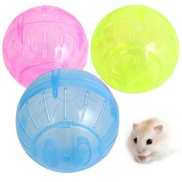 Wheels For Toys NZ - Hamster Ball Toy Rabbit Gerbil Rat Running Exercise Jogging Ball Plastic Grounder Hamster Ball For Pet Small Toy