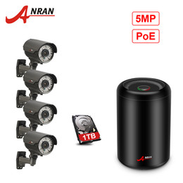 anran camera UK - ANRAN CCTV 4CH H.265 NVR 5.0MP POE 1920P System 2.8-12MM Lens 78IR Day Night Vision Outdoor Camera Security Kit With 1TB HDD