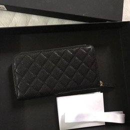 Wholesale Hot sale Famous fashion brand classic diamond pattern women purse high quality leather gold and silver hardware clutch bag caviar luxury bag