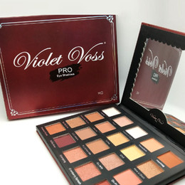 Pro makeuP Palettes online shopping - Violet Voss Pro Eye Shadow My Holy Grail Palette Cosmetics Colors Eyeshadow Palette Makeup DHL Shipping