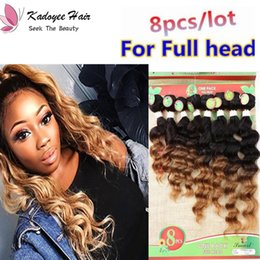 $enCountryForm.capitalKeyWord Australia - Free Shipping Loose wave Jerry curly Original human hair weaves 8pcs Pack Kinky Curl hair Weaving Extensions 8-14inch for Black Women