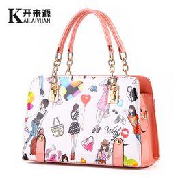 6eb9b17ccef9 KLY 100% Genuine leather Women handbags 2018 New shoulder bag female bag  fashionista summer young fashion handbag a beautiful