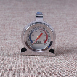 Oven Thermometer Steel NZ - Oven Cooker Thermometer Stainless Steel Pointer Type Top Quality Barbecue BBQ Grill Digital Temperature Kitchen Tool Portable Small 5yd cc