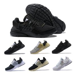 Chinese  2018 New Presto White Virgil Men And Women Running Shoes Air Cushion Off Casual Designer Prestos Sports Sneakers 3 color shoelaces 36-45 manufacturers