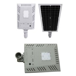 Discount solar one lighting - LED Solar Street Light Wall Garden Lights 22W All in One with Motion Sensor Waterproof IP65 Super Bright Security Night