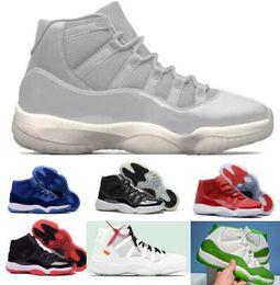 bb84103b39f Sale Basketball Shoes 11 11s XI Mens Womens Green Space Jam Bred Concord  Heiress Velvet Win Like 96 82 Designer Athletic Sneaker Shoe