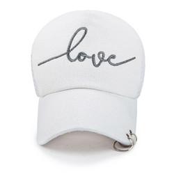 dadad5a64cb Love Caps UK - New style hot selling iron ring zipper Hats adjustable Baseball  cap Love