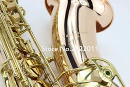 Discount phosphor bronze - New Yanagisawa T-901 Bb Tenor Saxophone B Flat High Quality Phosphor Bronze Music Instrument Gold Plated With Case,Glove